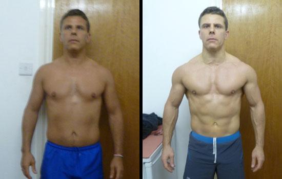 Week Body Transformation, Herbalife - Joey Garcia