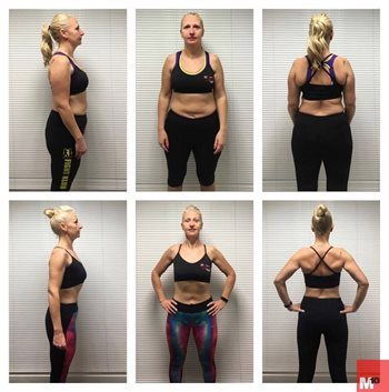 Esther M10 fat loss personal training client