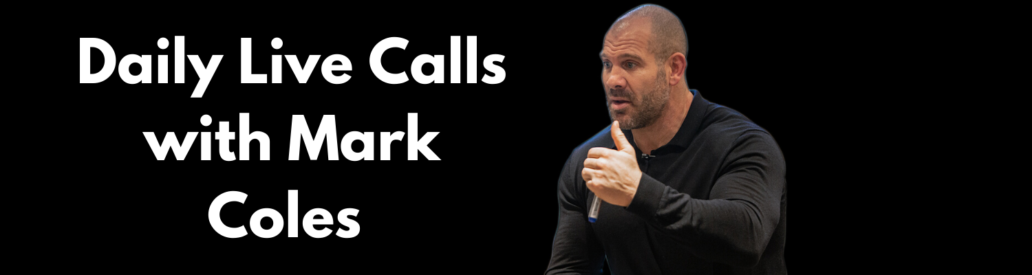 live call recordings with Mark Coles