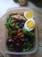 Mackerel Salad lunch box