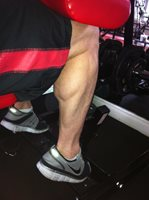 How to develop your calf muscles
