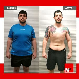 Matteo results m10 personal training