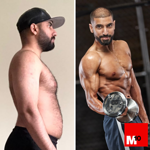 sunny and stan didi m10 personal trainer body transformation