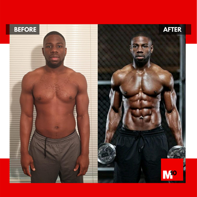 Jewade m10 body transformation