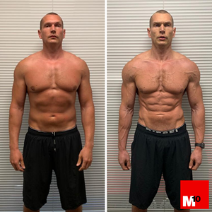 dan and Andy m10 personal trainer body transformation