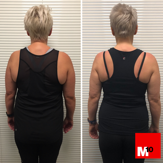 jane's client story and transformation m10 personal training