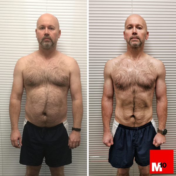 """I CHANGED MY HABITS TO LOSE 20% BODY FAT AND LOWER MY BLOOD PRESSURE"""